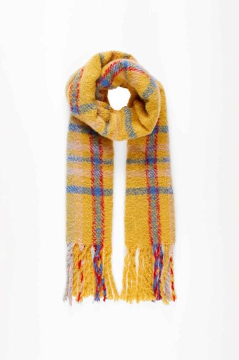 VERO MODA® Wintersjaals beige 10217593_SPICY MUSTARD img2