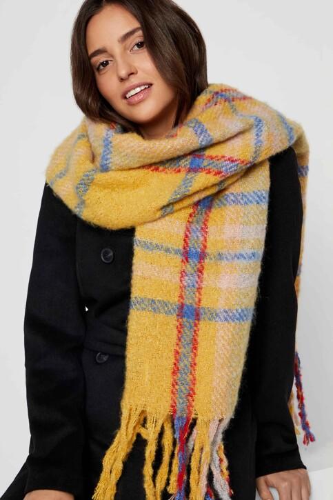 VERO MODA® Wintersjaals beige 10217593_SPICY MUSTARD img3