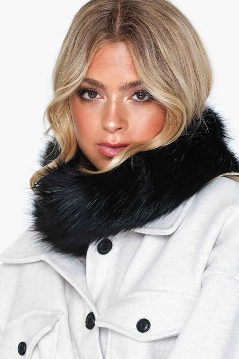 VERO MODA® Wintersjaals zwart 10217635_BLACK img4
