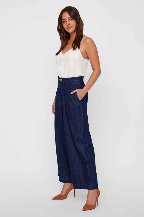 VERO MODA® Jeans wide denim 10217707_DARK BLUE DENIM img1
