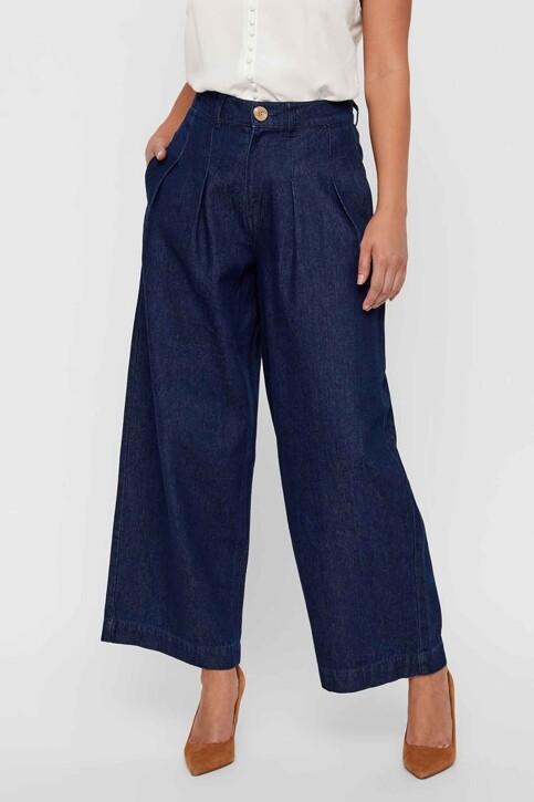 VERO MODA® Jeans wide denim 10217707_DARK BLUE DENIM img2