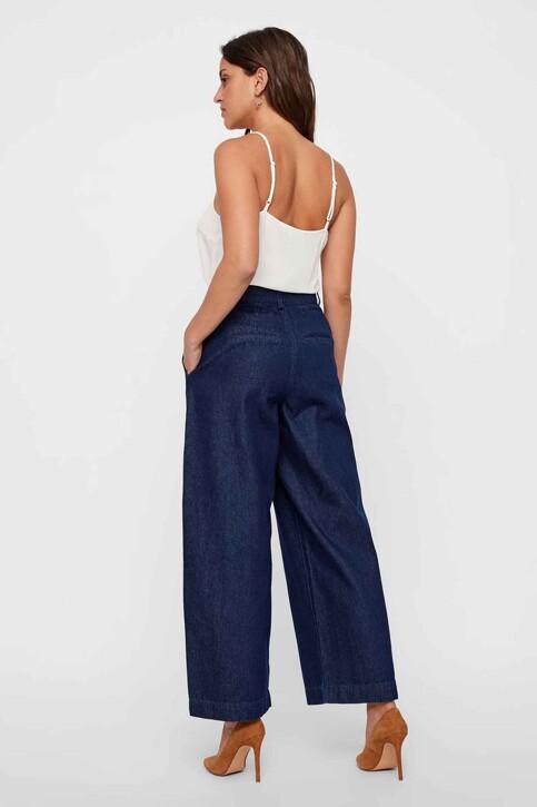 VERO MODA® Jeans wide denim 10217707_DARK BLUE DENIM img3