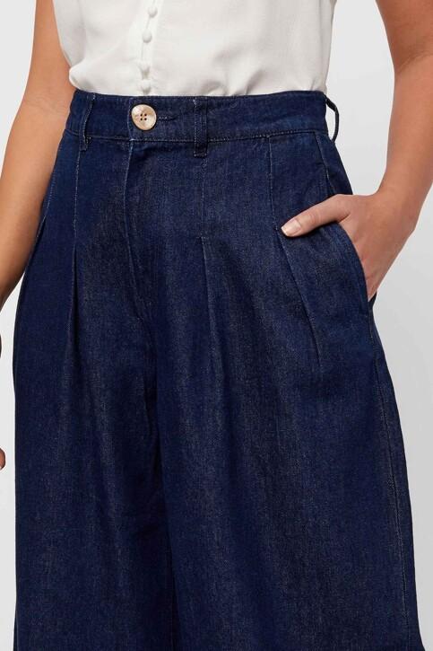 VERO MODA® Jeans wide denim 10217707_DARK BLUE DENIM img5