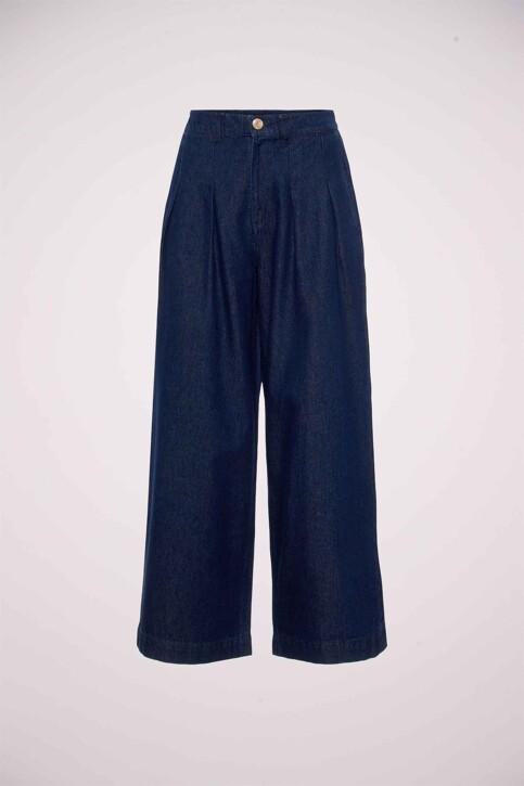 VERO MODA® Jeans wide denim 10217707_DARK BLUE DENIM img6