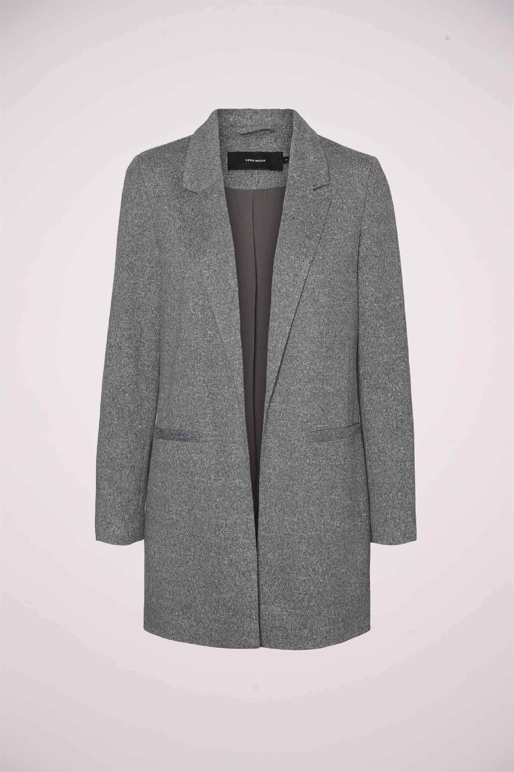 Vero Moda® Blazer, Grijs, Dames, Maat: 34/40