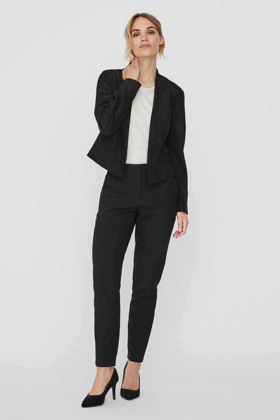 Vero Moda® Blazer, Zwart, Dames, Maat: 38/40/42