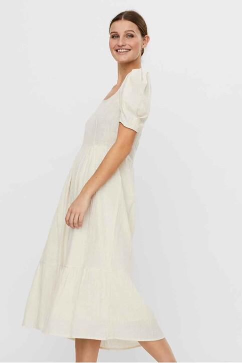 VERO MODA® Robes longues beige 10244785_BIRCH img1
