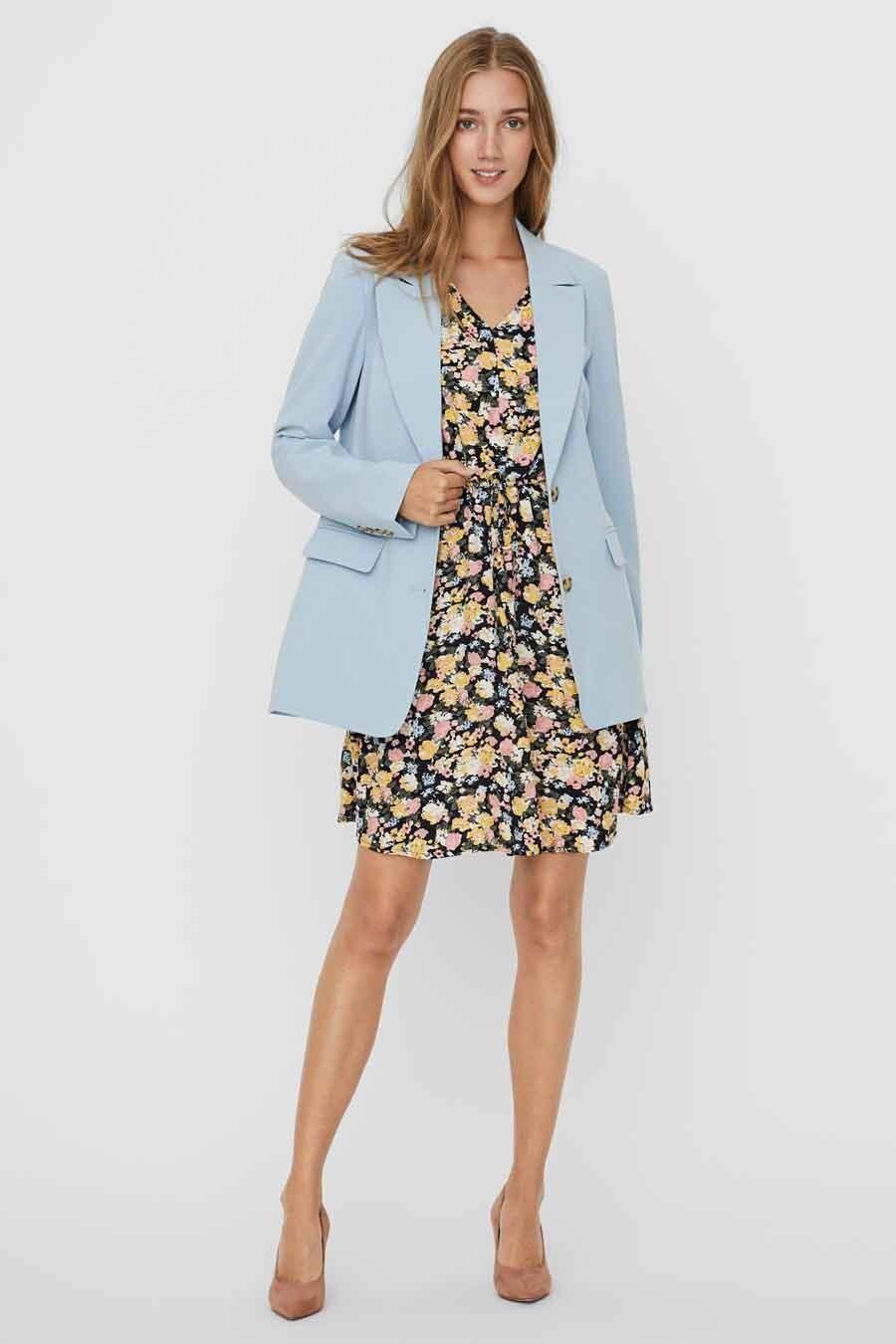 Vero Moda® Blazer, Blauw, Dames, Maat: 34