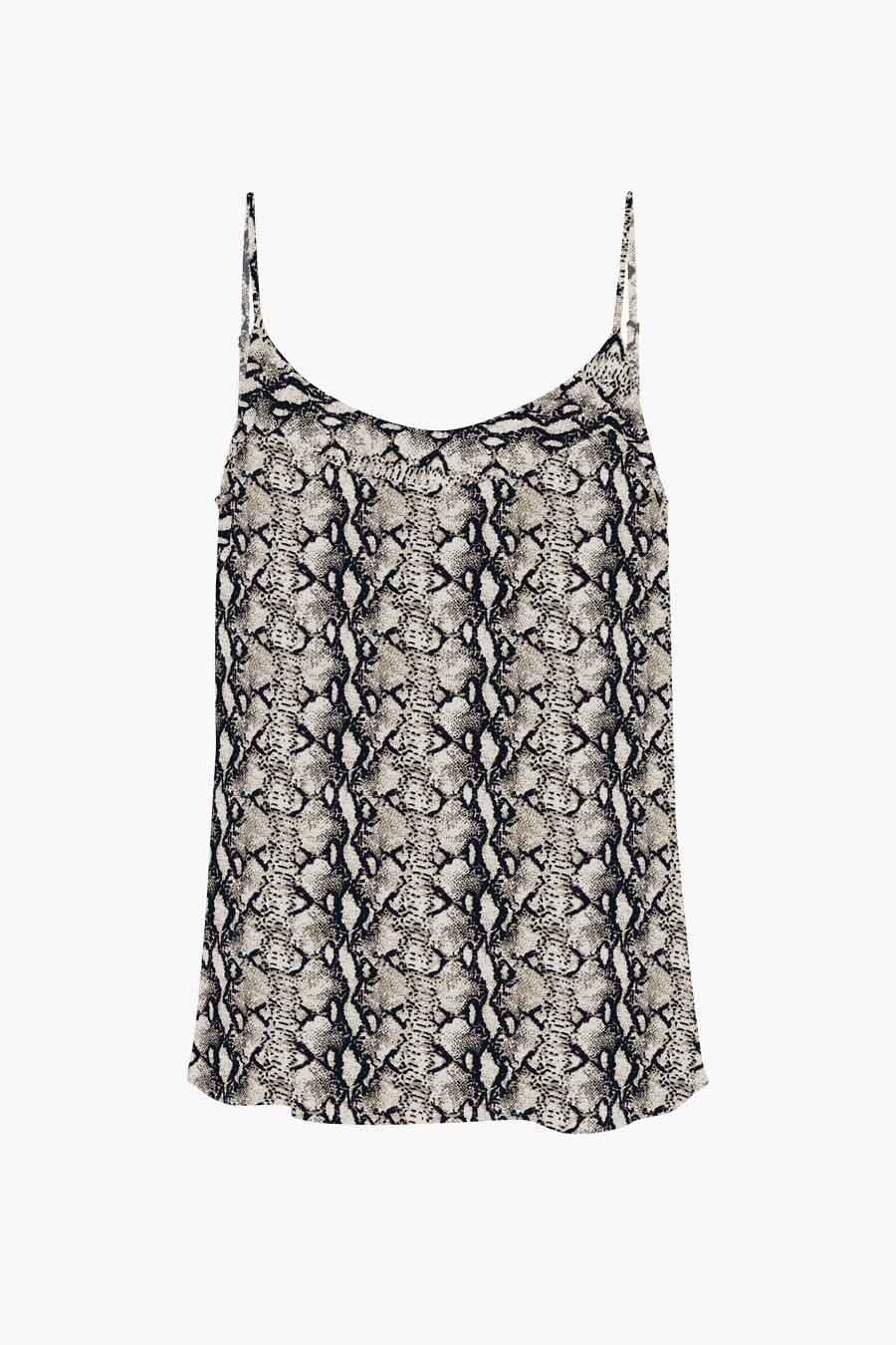 Vero Moda® Blouse zonder mouwen, Beige, Dames, Maat: XL