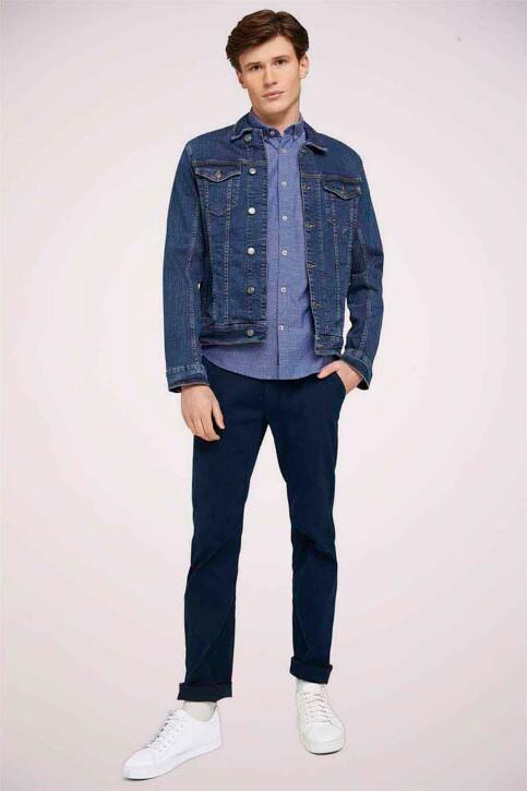 TOM TAILOR Hemden (lange mouwen) blauw 1024747_26394 BLUE WHIT img2