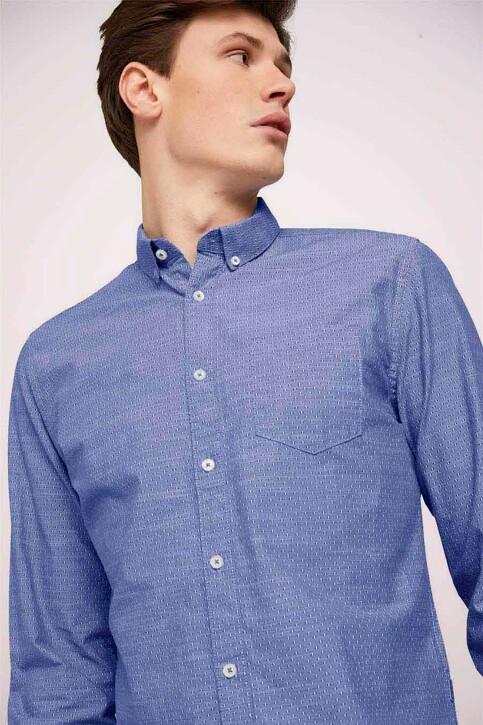 TOM TAILOR Hemden (lange mouwen) blauw 1024747_26394 BLUE WHIT img5