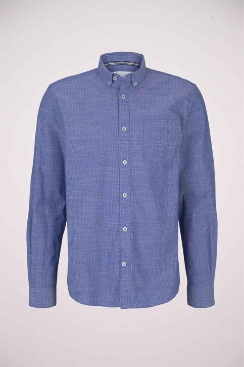 TOM TAILOR Hemden (lange mouwen) blauw 1024747_26394 BLUE WHIT img6