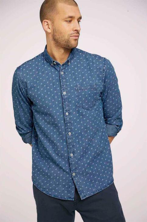 TOM TAILOR Hemden (lange mouwen) denim 1024752_26398 DENIMBLUE img1