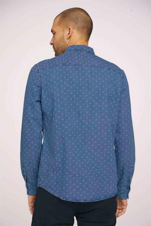 TOM TAILOR Hemden (lange mouwen) denim 1024752_26398 DENIMBLUE img3