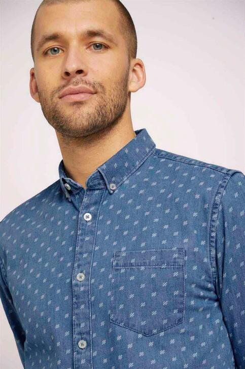 TOM TAILOR Hemden (lange mouwen) denim 1024752_26398 DENIMBLUE img4