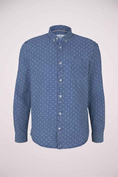 TOM TAILOR Hemden (lange mouwen) denim 1024752_26398 DENIMBLUE img5