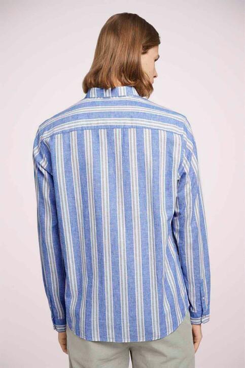 TOM TAILOR Hemden (lange mouwen) groen 1025153_26637 OLIVE BLU img4