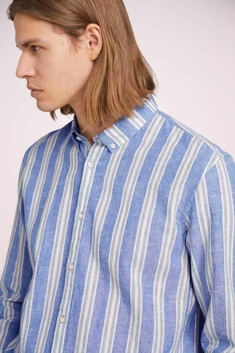 TOM TAILOR Hemden (lange mouwen) groen 1025153_26637 OLIVE BLU img5