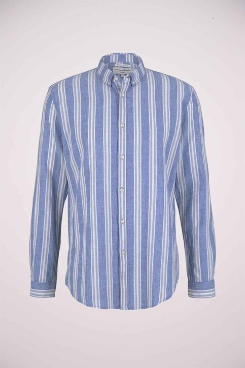 TOM TAILOR Hemden (lange mouwen) groen 1025153_26637 OLIVE BLU img6