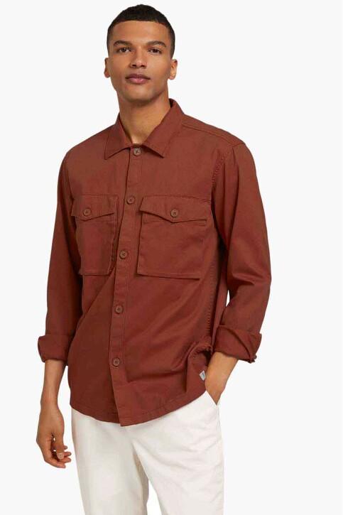 TOM TAILOR Hemden (lange mouwen) oranje 1025475_13054 GOJI ORAN img1