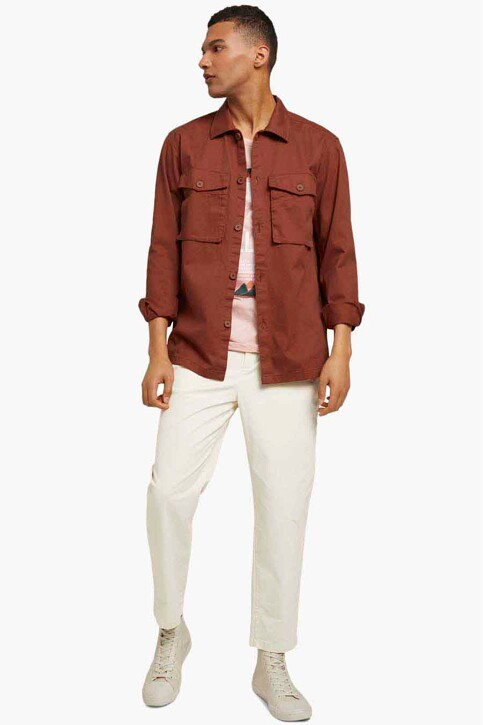 TOM TAILOR Hemden (lange mouwen) oranje 1025475_13054 GOJI ORAN img2