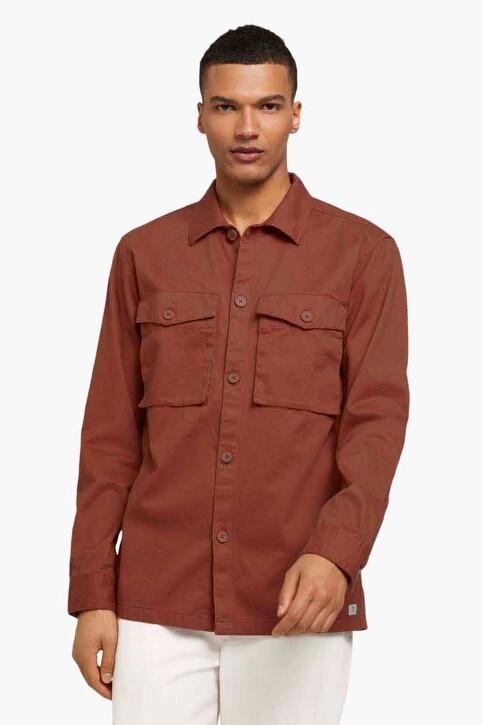TOM TAILOR Hemden (lange mouwen) oranje 1025475_13054 GOJI ORAN img3