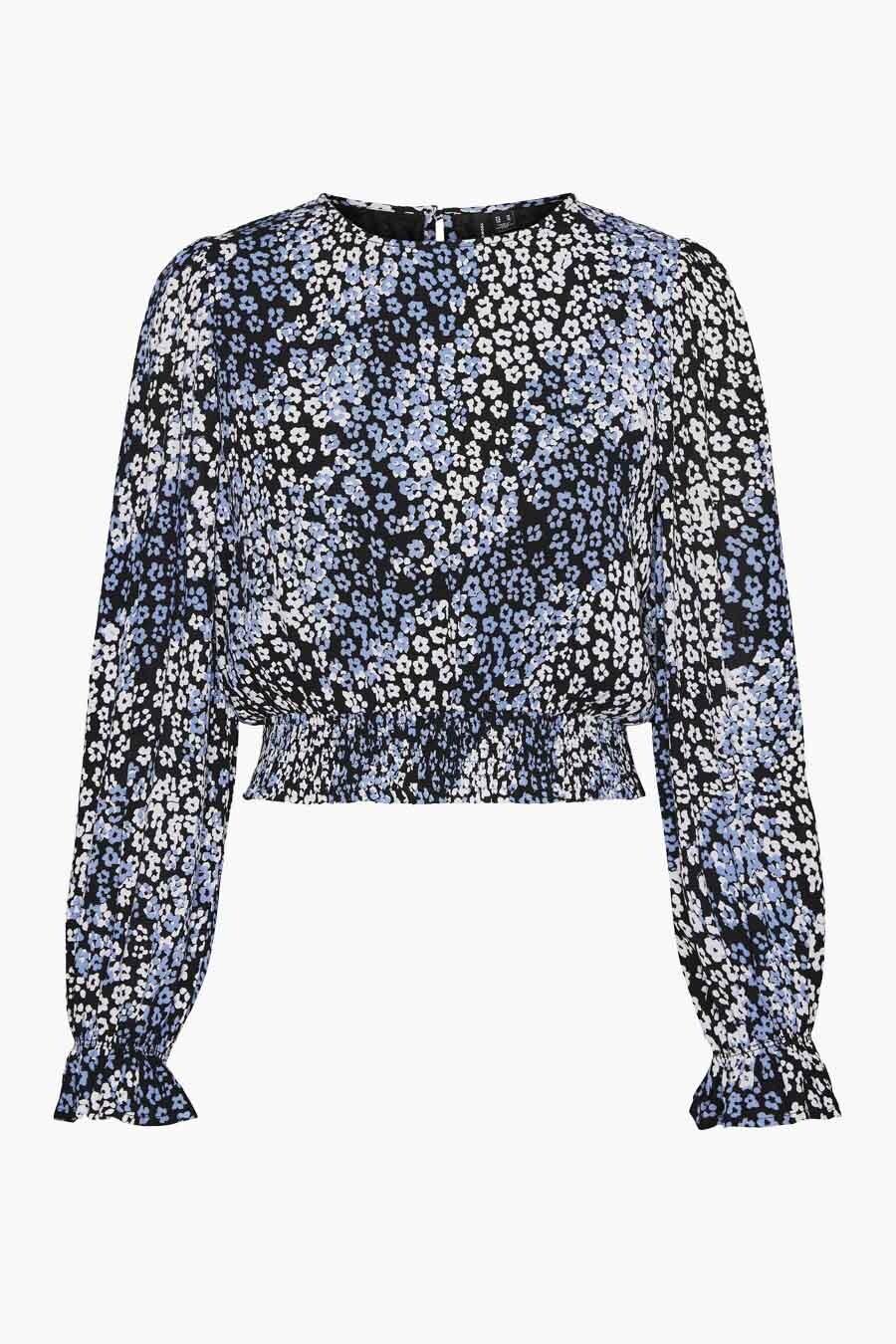Vero Moda® Blouse lange mouwen, Multicolor, Dames, Maat: L/M/XL/XS