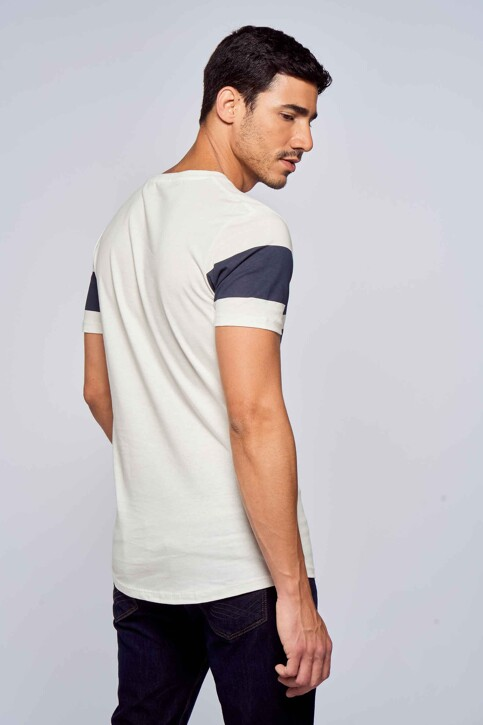 TOM TAILOR T-shirts (manches courtes) beige 1029534_10338 SOFT LIGH img3