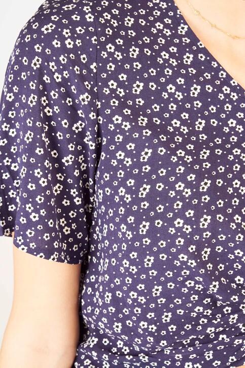 T-shirts (manches courtes) bleu 11000012000529_0529 BLUE FLOWE img4