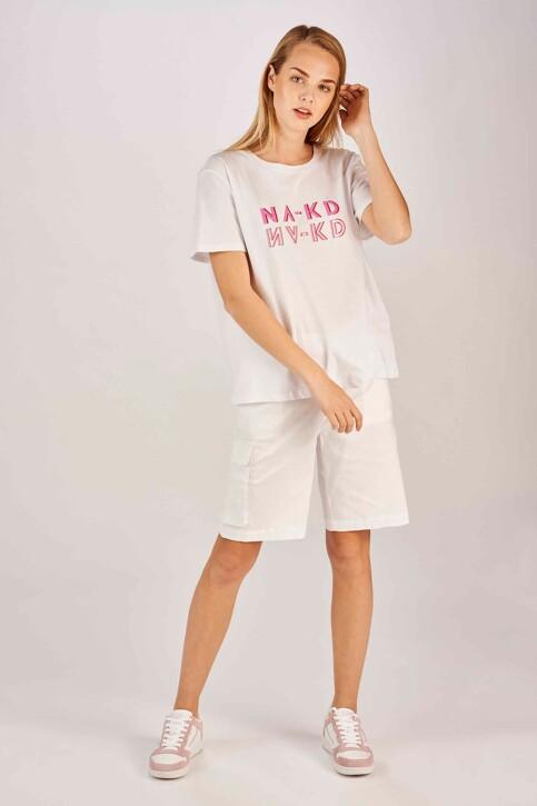 Shorts blanc 11000012060001_0001 WHITE img1