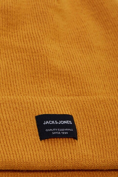 ACCESSORIES BY JACK & JONES Bonnets jaune 12092815_SUNFLOWER img2
