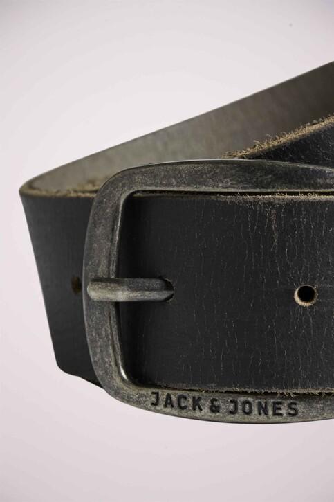 ACCESSORIES BY JACK & JONES Riemen grijs 12111286_CASTLEROCK img3