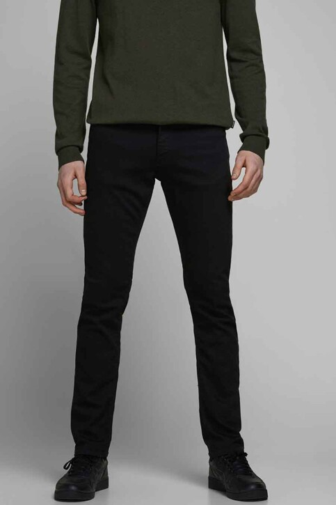 JACK & JONES JEANS INTELLIGENCE Jeans slim 12113450_BLACK DENIM img2