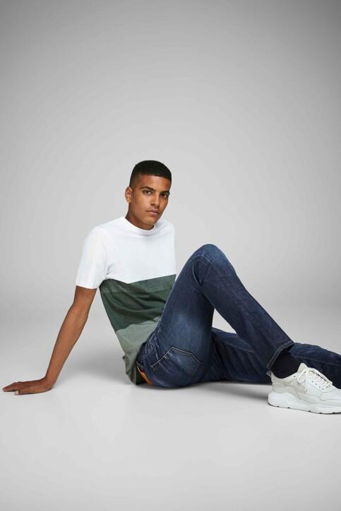 JACK & JONES JEANS INTELLIGENCE Jeans slim denim 12118215_BLUE DENIM img7