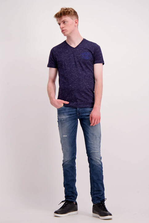 JACK & JONES JEANS INTELLIGENCE Jeans slim denim 12126063_BLUE DENIM img2