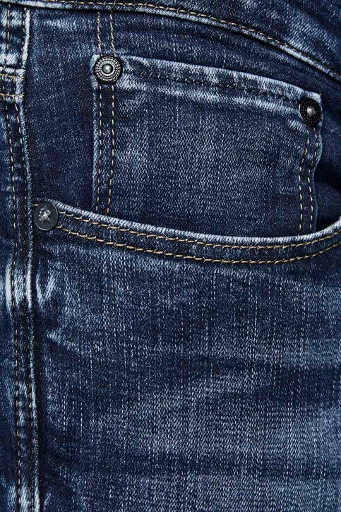 JACK & JONES JEANS INTELLIGENCE Jeans slim denim 12133074_BLUE DENIM img4