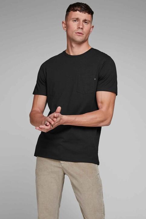 CORE BY JACK & JONES T-shirts (korte mouwen) zwart 12136714_BLACK SLIM FIT img1
