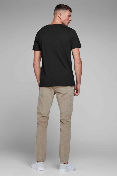 CORE BY JACK & JONES T-shirts (korte mouwen) zwart 12136714_BLACK SLIM FIT img3