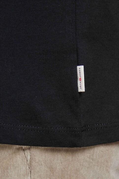CORE BY JACK & JONES T-shirts (korte mouwen) zwart 12136714_BLACK SLIM FIT img5