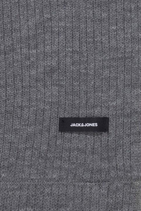 ACCESSORIES BY JACK & JONES Wintersjaals grijs 12138756_GREY MELANGE img3