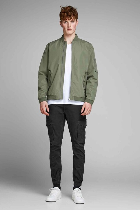 JACK & JONES JEANS INTELLIGENCE Broeken zwart 12139912_BLACK img2