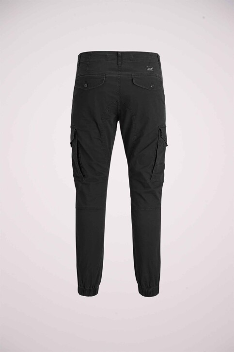 JACK & JONES JEANS INTELLIGENCE Pantalons noir 12139912_BLACK img3
