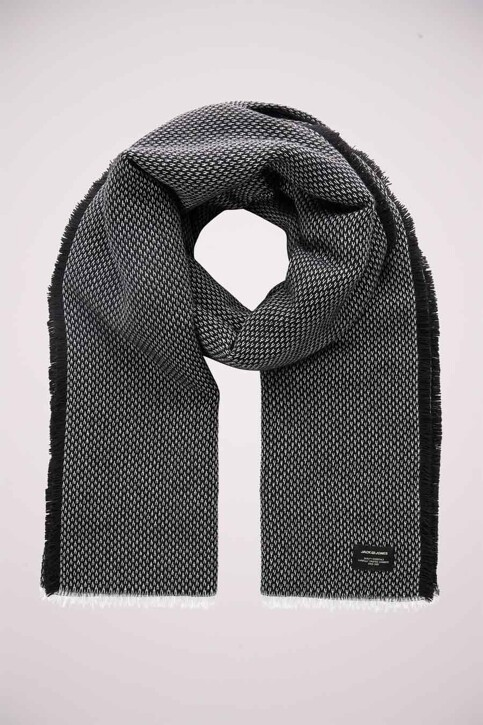ACCESSORIES BY JACK & JONES Wintersjaals zwart 12140519_BLACK img3