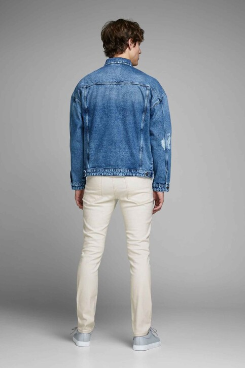 JACK & JONES JEANS INTELLIGENCE Jeans slim 12142624_WHITE DENIM img3