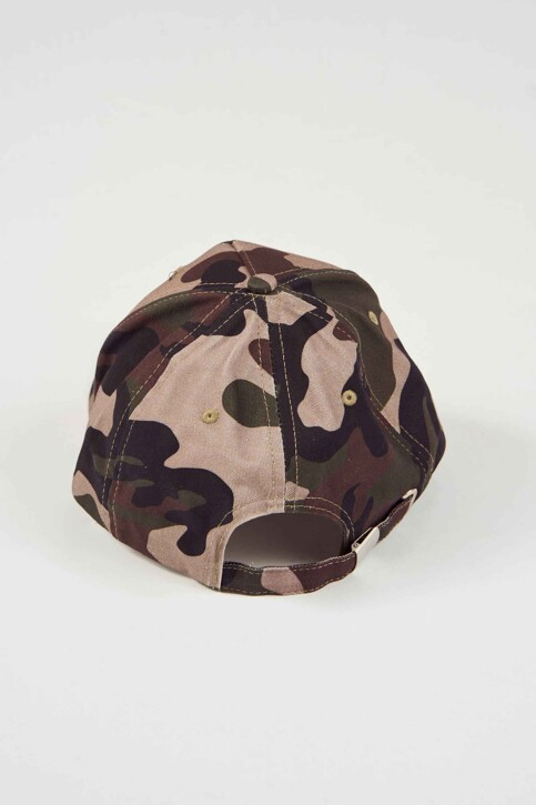 ACCESSORIES BY JACK & JONES Casquettes bleu 12143164_FOREST NIGHT img2