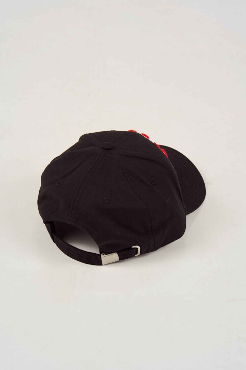 ACCESSORIES BY JACK & JONES Casquettes noir 12143923_BLACK img2