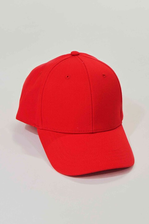 ACCESSORIES BY JACK & JONES Casquettes rouge 12145937_FIERY RED img1