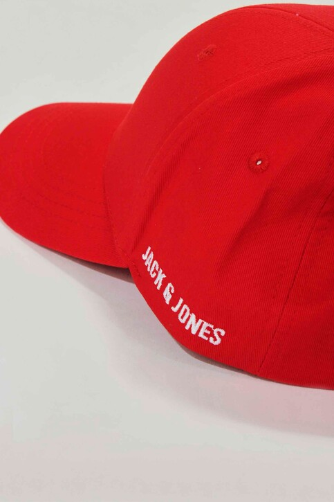 ACCESSORIES BY JACK & JONES Casquettes rouge 12145937_FIERY RED img2