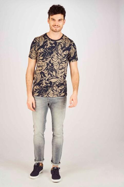 JACK & JONES JEANS INTELLIGENCE Jeans slim gris 12147024_GREY DENIM img2