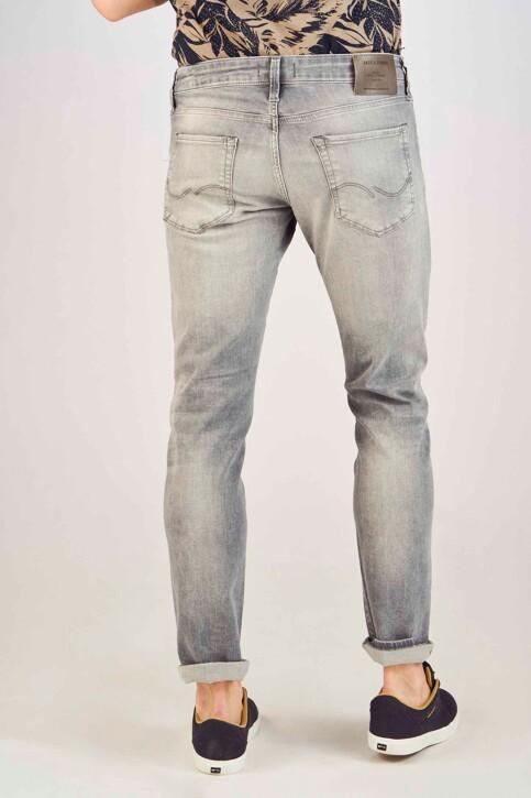 JACK & JONES JEANS INTELLIGENCE Jeans slim gris 12147024_GREY DENIM img3